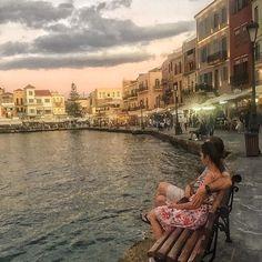 #chania #crete island #greece ...