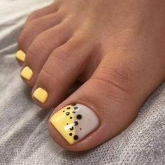 Pedicure Nail Designs, Shellac Nail Designs, Pedicure Nails, Cute Toe Nails, Toe Nail Art, My Nails, Acrylic Nails, Toe Nail Designs, Simple Nail Designs