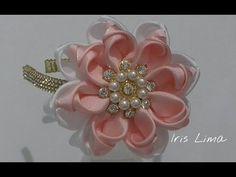 Flor mil faces Flor de fita cetim https://youtu.be/w9LnIT26-As