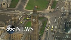 Terror Attack near UK Houses of Parliament being treated as terrorism by the police. 5 dead and dozens were injured  Reblogged from the ABC News on youTube - link https://www.youtube.com/watch?v=gjlyTtvDTUI the rights for this video belong to the ABC