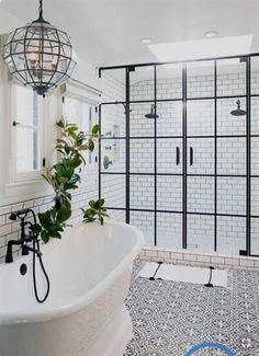 Earl Double Pedestal Bathtub - American Bath Factory 28 Master Bathroom Ideas to Find Peace and Relaxation Bad Inspiration, Bathroom Inspiration, Bathroom Interior, Modern Bathroom, Serene Bathroom, Minimalist Bathroom, Interior Doors, Bathroom Furniture, Glamorous Bathroom
