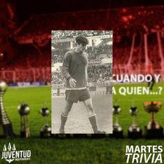 #MartesTrivia Respuesta! Un día como hoy, pero de 1962, Santoro debuta en #Independiente,frente a Argentinos Juniors