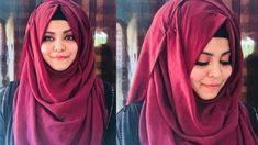 Hijab Tutorial | Full covered | Ideal for College & School | Hijabi Girl Pashmina Hijab Tutorial, Hijab Style Tutorial, Simple Hijab Tutorial, Hijabi Gowns, Hijab Dress, Turban Hijab, Hijab Outfit, Hijabi Girl, Girl Hijab