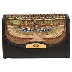 Mary Frances beaded embellished handbags fuse whimsy with elegance, femininity with functionality. Purses And Handbags, Leather Handbags, Mary Frances Handbags, Isis Goddess, Thing 1, Day Bag, Vintage Bags, Beautiful Bags, Large Bags