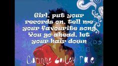 Corinne Bailey Rae: Put Your Records On (Lyrics) ~ Somewhere, somehow ~