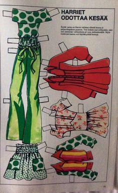 Harriet's clothes 1970's