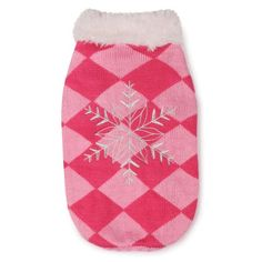 East Side Collection Acrylic Snowflake Snuggler Dog Sweater, Small, 12-Inch, Pink - http://www.thepuppy.org/east-side-collection-acrylic-snowflake-snuggler-dog-sweater-small-12-inch-pink/