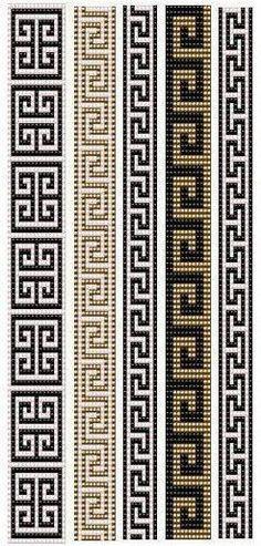 off loom beading techniques Loom Bracelet Patterns, Bead Loom Bracelets, Bead Loom Patterns, Peyote Patterns, Weaving Patterns, Cross Stitch Patterns, Jewelry Patterns, Native Beading Patterns, Geometric Patterns
