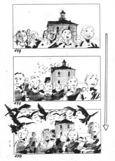 Storyboard For The  Steps  The  Steps  Film