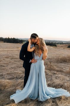 Thigh Split Sky Blue Rustic Wedding Dresses Prom Dress Beach Wedding Gown with C. Thigh Split Sky Blue Rustic Wedding Dresses Prom Dress Beach Wedding Gown with Court Train Engagement Photo Poses, Engagement Outfits, Engagement Photo Inspiration, Engagement Couple, Engagement Shoots, Engagement Photography, Wedding Photography, Country Engagement, Fall Engagement