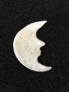 Felt Moon for Wax Dipping-DIY Kits for Independent Counsultants- Parties-Decorations-Costume Embellishments-Crescent Moon Applique by PearCreekCottage on Etsy