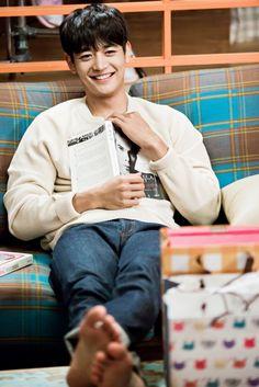 150925 Minho - OnStyle Naver Blog Update