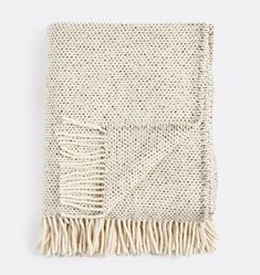 Dapple Tan Donegal Wool Throw | Rejuvenation