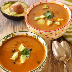 This quick and easy soup is full of spicy Southwest flavor.