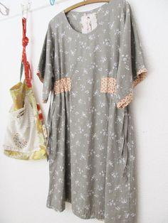 a dottie angel kimono sleeved smock frock ...