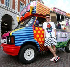 Un camión de helados que vende… ¡ropa!