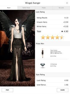 Covet Fashion 4.50+ rating - Fallen Angel