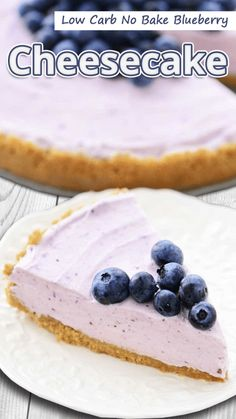 """I like cheesecakes, so to make a low carb no bake blueberry cheesecake was a brilliant discovery."" Low Carb No Bake Blueberry Cheesecake -. Keto Cheesecake, No Bake Blueberry Cheesecake, Cheesecake Cookies, Desserts Keto, Dessert Recipes, Keto Snacks, Brunch Recipes, Keto Postres, Comida Keto"