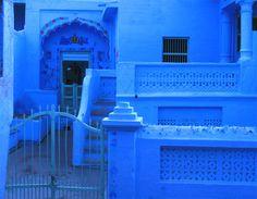 azul é  a cor da semana