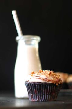 Vegan Chocolate Cupcakes - delicious and yummy