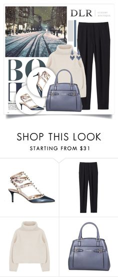 """""""DLR: Contest entry"""" by car69 ❤ liked on Polyvore featuring Valentino, Rebecca Taylor, Trussardi, Alexis Bittar and dlr"""