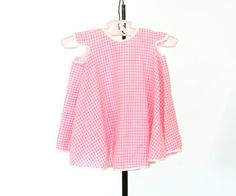 Vintage Baby Dress Vintage Pink Dress Summer by pinebrookvintage, $12.00 NEW!!! Pink Gingham Vintage Baby dress. She'll stay cool and comfortable in this darling dress.