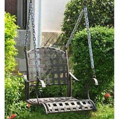 Centerville Amish Heavy Duty Classic Swing Single Chair | Porch Swings |  Pinterest | Swings, Backyard Paradise And Swing Chairs