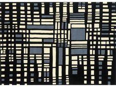 Rectangular wool rug URBAN by NOW CARPETS