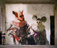 """""""The Golden Age Of Grotesque"""" by Sepe via Gorgo."""