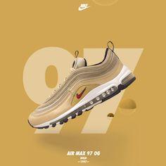 Nike Design, Ad Design, Air Max 97, Nike Air Max, Nike Poster, Banner Design Inspiration, Web Banner Design, Ads Creative, Creative Posters