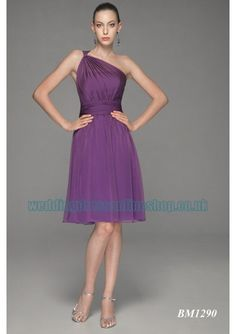 chiffon sexy rouched bosom bodice with sexy straps in a line short knee length skirt and zipper closure 2011 new brand new cheap bridesmaid dress bm 0380