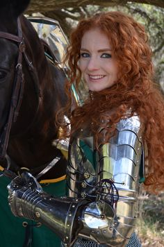 Lady Victoria is one of the few female full-contact jousters. Description from newtimesslo.com. I searched for this on bing.com/images