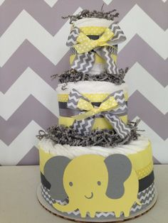 windeltorte babygeschenke geburt chevron basteln anleitung