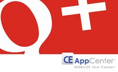 Follow us on Google+.  Keep up to date on the latest Mobile Job App and Mobile CE App offerings. www.CEAppCenter.com