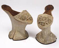 Chapines venecianos o milaneses. Siglo XVI.