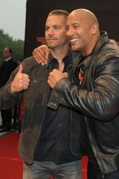 Fast 6! With Paul Walker and Dwayne Johnson