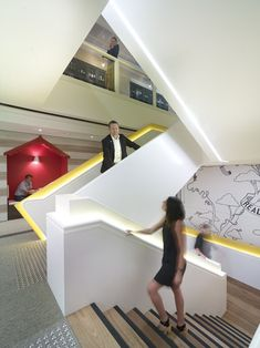 Lions Sydney Offices | Project Control Group -- The red house-as-meeting-niche is neat.