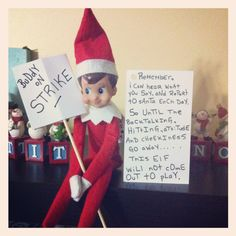 Christmas Activities, Christmas Traditions, Holiday Festival, Holiday Fun, Christmas Elf, Christmas Crafts, Awesome Elf On The Shelf Ideas, Elf Magic, Elf On The Self