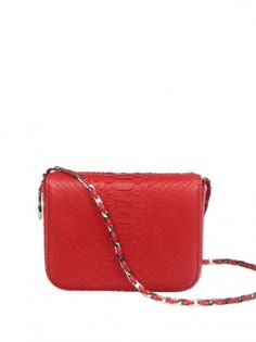 Downing (Python) from Cashhimi, red purse, crossbody,
