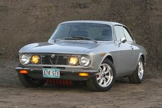 One of my favorite cars ever.  1974 Alfa Romeo GTV. #alfaromeogta