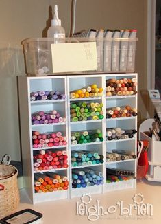 All About Marker Storage at Craft Storage Ideas