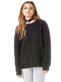 Unif Clothing, Black Sweaters, Sweaters For Women, Style Matters, Capsule Wardrobe, Style Me, Long Sleeve Shirts, Pullover, Fashion Outfits