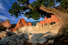 Garden of the Gods Co. Springs Co.  NO photo can capture the beauty of this place!!!