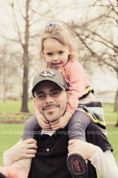 Father & Daughter ~ Clicks By Charity Photography