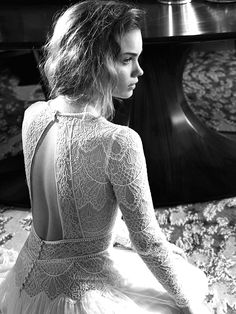 Lihi Hod wedding dresses via @WhoWhatWear
