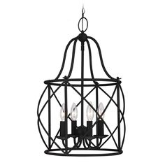 Sea Gull Lighting Sea Gull Lighting Turbinio Blacksmith Pendant Light 5116404-839