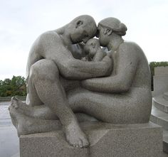 Gustav Vigeland (1869-1943) - Sculpture Park, Oslo, Norway