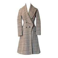 Alexander McQueen 2006 Scottish Highland Double Breasted Fitted Coat | From a collection of rare vintage coats and outerwear at https://www.1stdibs.com/fashion/clothing/coats-outerwear/