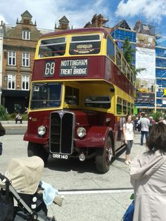 Today in town. Nottingham City, Bus Coach, Back In The Day, Coaches, Taxi, Buses, Vintage Cars, Trains, Nct