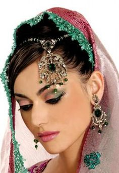 Bridal Make up is totally different from party make up. As the Bride is center of attention in every marriage, she should have special make up to make her stunning and most gorgeous lady in the marriage ceremony. Make up … Continue reading → Pakistani Bridal Makeup, Indian Wedding Makeup, Indian Bridal Makeup, Asian Bridal, Exotic Wedding, Bridal Makeup Tips, Bride Makeup, Bridal Beauty, Indian Bridal Hairstyles